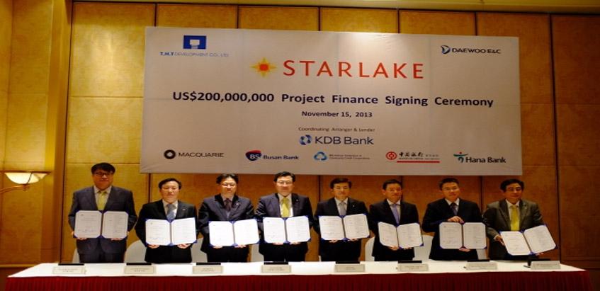 Cấp vốn 200 triệu USD cho dự án STARLAKE