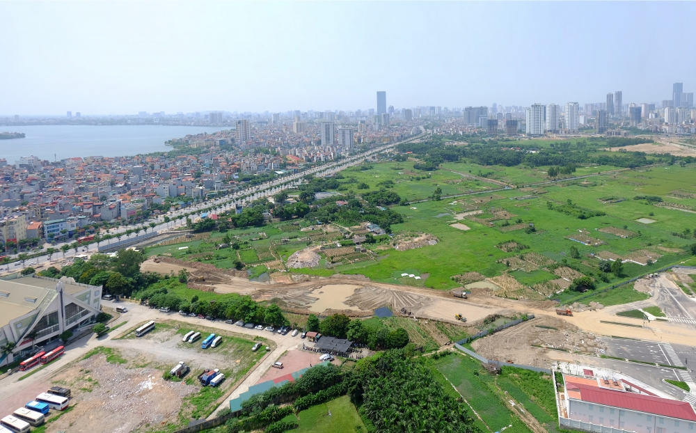 Đường nối Võ Chí Công – Phạm Văn Đồng sắp hoàn thiện – điểm nhấn mới của khu vực Tây Hồ Tây