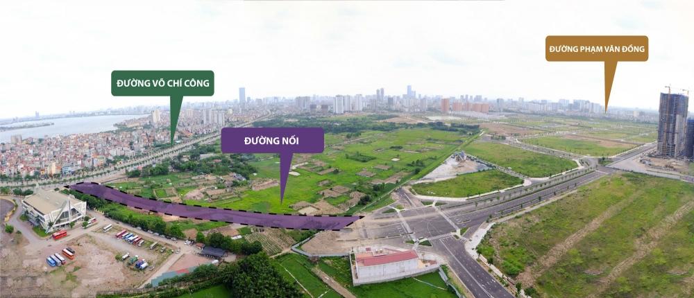Starlake khởi công xây dựng đường nối Võ Chí Công tới Phạm Văn Đồng