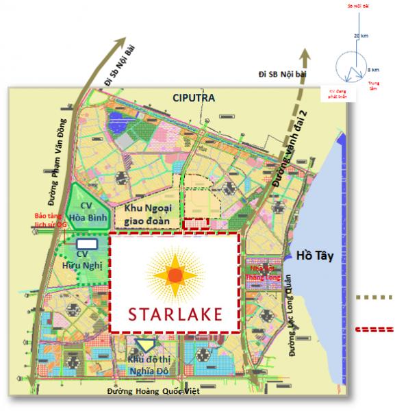 Khu đô thị Starlake hâm nóng thị trường bất động sản cuối năm 2019