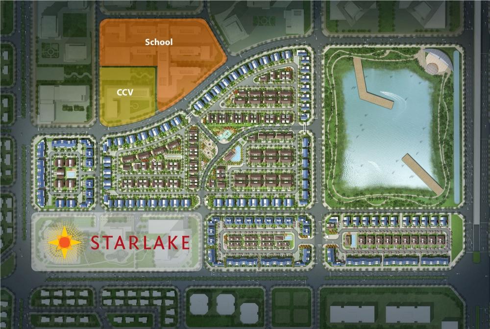 Nhũng ưu điểm vượt trội của chung cư Starlake