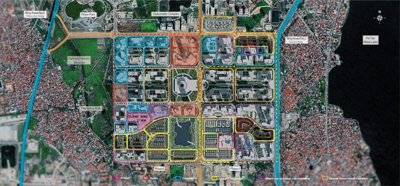 Hệ thống hạ tầng giao thông của khu đô thị Starlake